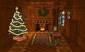 3D Illustration Christmas