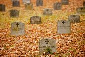 German Soldiers Gravestones