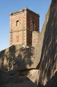 Small church Lalibela Ethiopia. UNESCO World heritage site