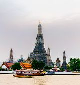 Wat Arun Shot From Across Chaopraya River