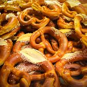 Pretzels In A Bakery