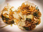 Winter Pinecones Brilliant