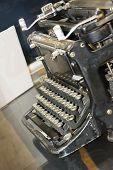 Old write machine
