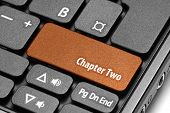 Chapter Two. Orange Hot Key On Computer Keyboard