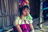 Padong people - child