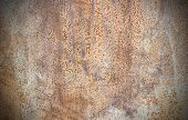 Close Up Of Rusty Metallic Surface