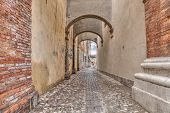 Alley In Italian Old Town