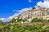 Casperia -beautiful small hill top village, Rieti, Italy