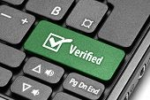 Verified. Green Hot Key On Computer Keyboard.