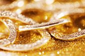 gold jewelery luxury background