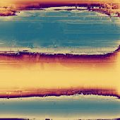 Abstract grunge background or old texture. With different color patterns: gray; blue; purple (violet); orange; brown; yellow