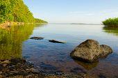 backwater lake