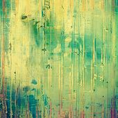 Old Texture or Background. With different color patterns: blue; green; yellow