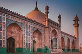 foto of emperor  - The Badshahi Mosque  - JPG