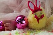 picture of baby easter  - Baby Sorelle - JPG