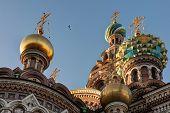 picture of sankt-peterburg  - Dome of the Savior on Spilled Blood Sankt - JPG