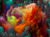 picture of fractals  - Dynamic Color series - JPG