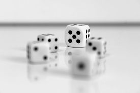 picture of augen  - Spiel wuerfel dice number game play spielen - JPG
