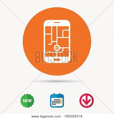 Smartphone device icon