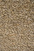 picture of fieldstone-wall  - the detail of a wall made of stones - JPG
