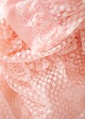 stock photo of close-up  - pink vintage lace lingerie close - JPG