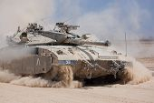 Merkava Tank Of The Israeli Defence Force