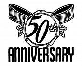 50th Anniversary - Retro Ad Art Banner