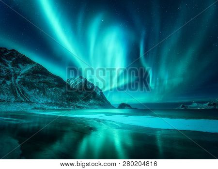 Amazing Aurora Borealis Northern Lights