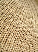 Infinito de lã marrom
