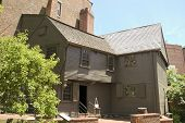 stock photo of paul revere  - Paul Revere House - JPG