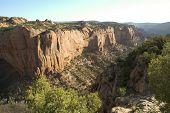 cliff in Betatakin Canyon