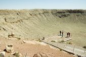 Meteor Crater viewing platform