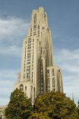 Cathedral of Learning National Landmark poster