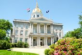 New Hampshire State House capitol building