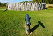 Fort Necessity and cannon