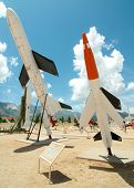 White Sands Missile Range Museum missile display