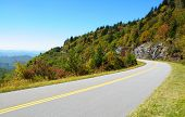 Blue Ridge Parkway road