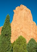 Garden of the Gods rock tower