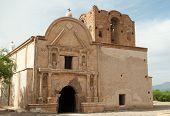 pic of 1700s  - historic spanish mission ruins at Tumac - JPG