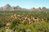 red rock mountains in Sedona