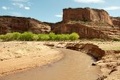 Canyon de Chelly river valley