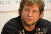TOMSK, RUSSIA - JULY 1: Aleksander Emelianenko - three-time champion of the World Combat Sambo at a