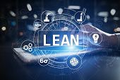 Lean Manufacturing. Quality And Standardization. Business Process Improvement. poster