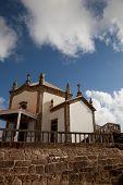 Capela da Senhora da Pedra na costa de Miramar, Gaia, Portugal