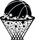 Basketball in Star Net