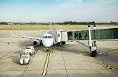 Departure In Airport Field