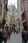 The Great Clock of Rouen, France