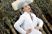 Model Beautiful Photokina 2008 White Hat Body