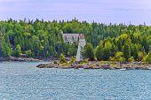 Big Tube Lighthouse  Tobermory In Bruce Peninsula, Ontario, Canada