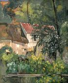 House Of Pere Lacroix By Cezanne
